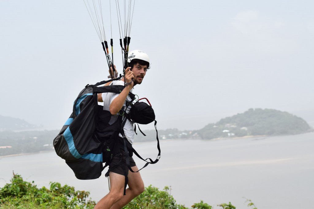 VIctor, qui nous a amené de belles conditions de vol depuis son arrivée en Guyane!
